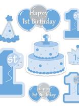 a5c83c4c9b7eb 1st Birthday Cut Outs Blue 7