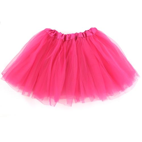 Happytime Novelty Co Du Adult 80 S Tutu Skirt Hot Pink