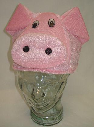 HappyTime Novelty Co Hat Pig Plush